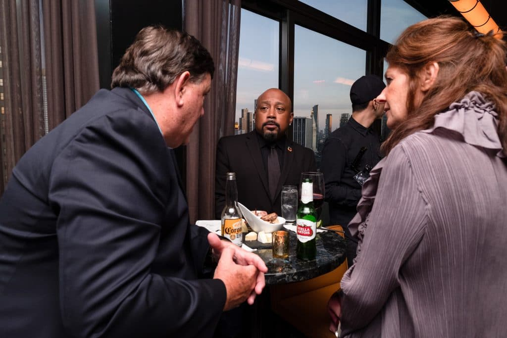 daymond at an event