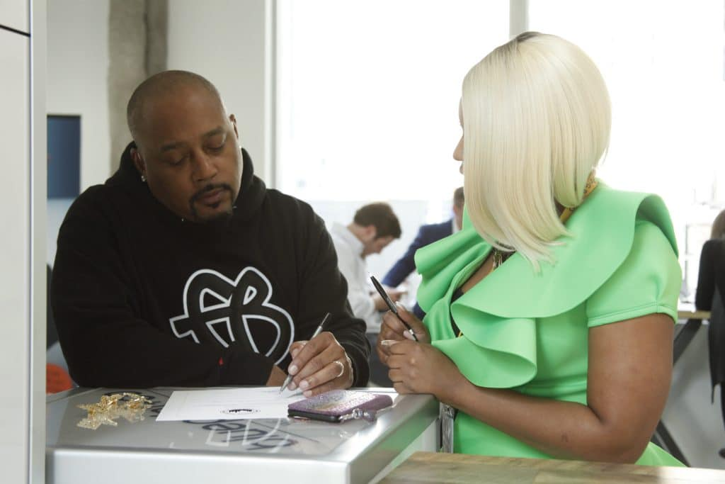 daymond working with entrepreneurs