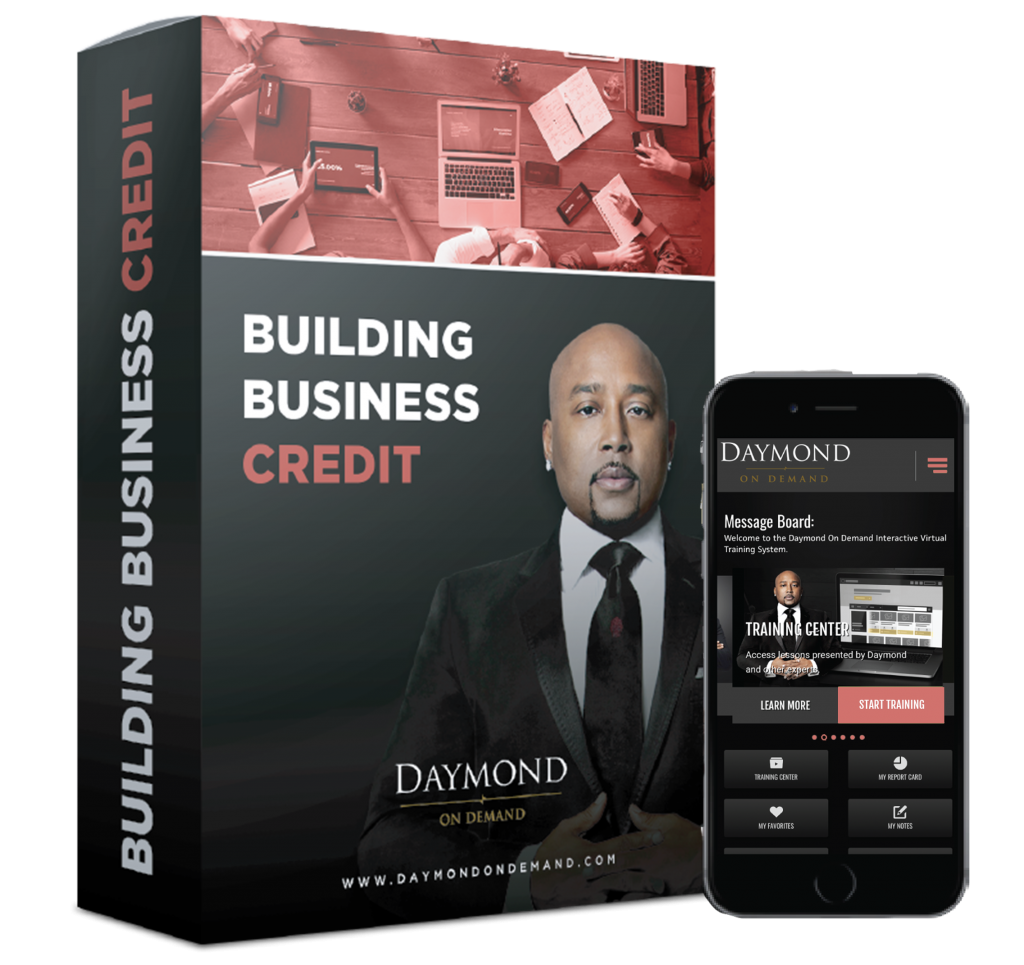 Daymond on Demand Business Credit online course