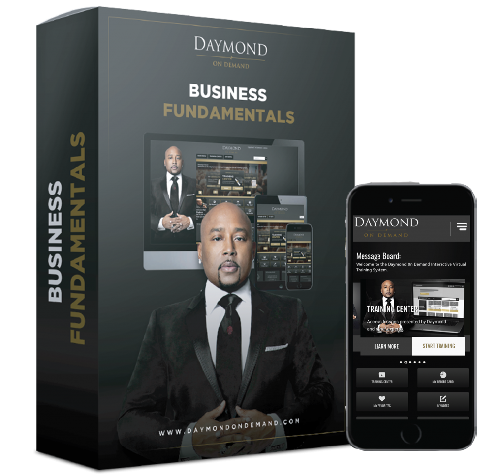 Daymond on demand business fundamentals online course