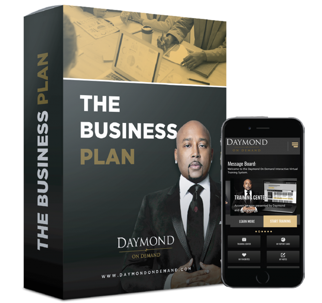 Daymond on Demand the business plan online course