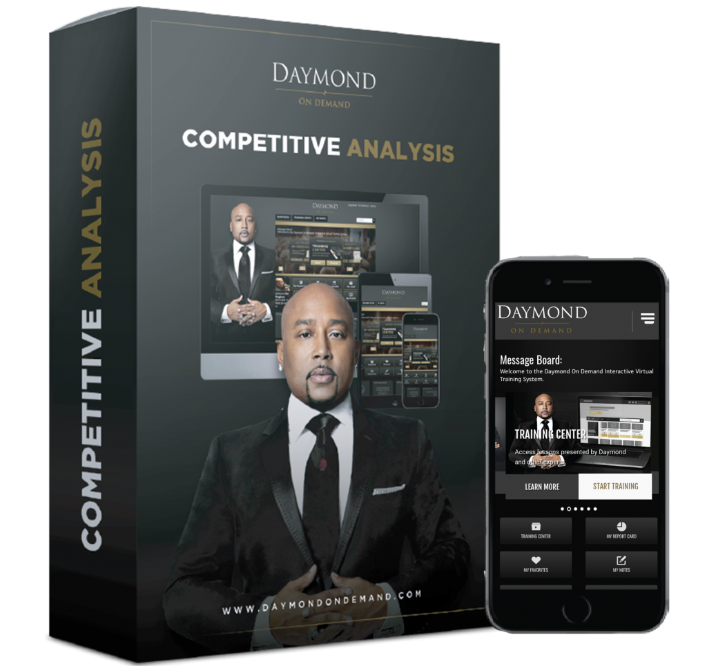 Daymond on Demand Competitive Analysis online course