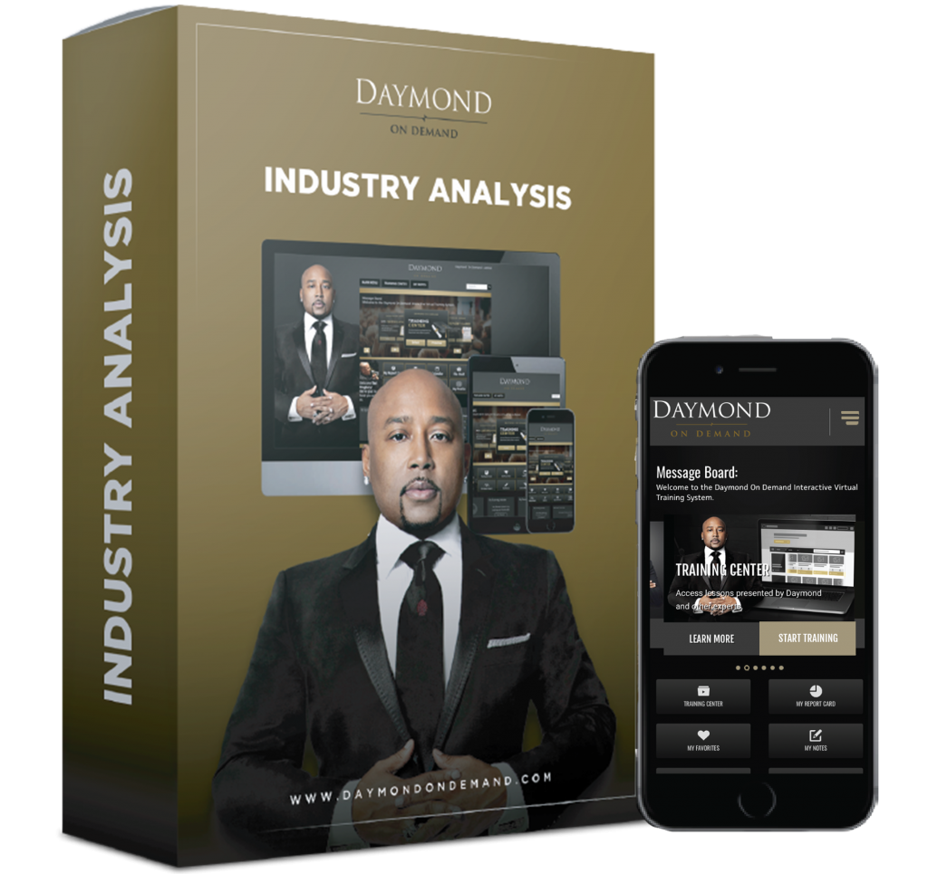 Daymond on Demand Industry Analysis online course