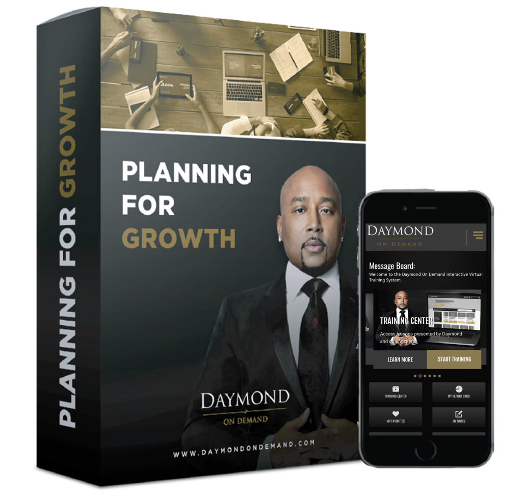 Daymond on Demand Planning for growth online course