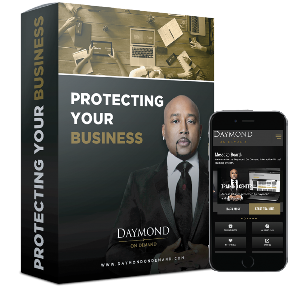 Daymond on Demand Protecting Your Business online course
