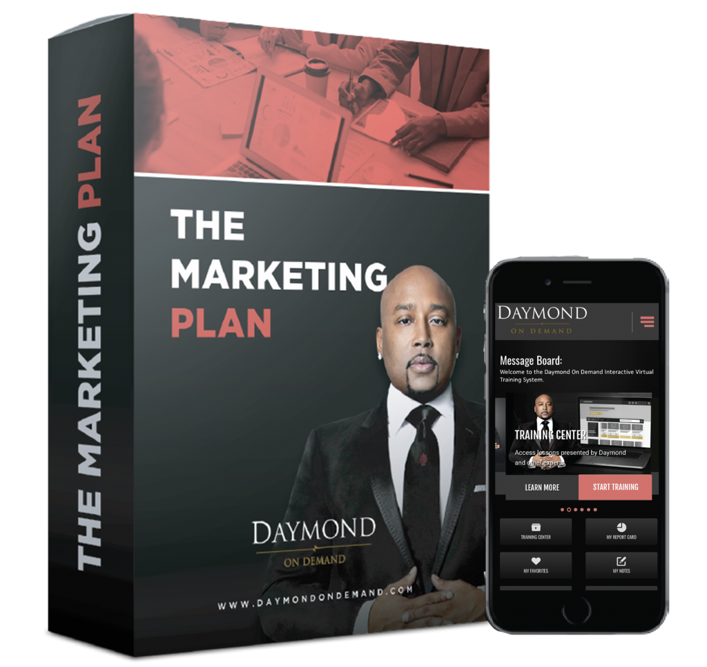 Daymond on Demand Marketing Plan online course