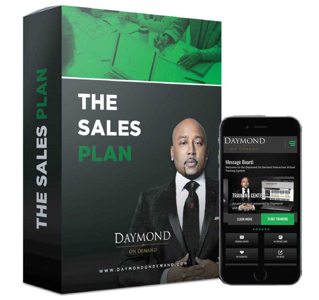 Daymond on demand sales Plan